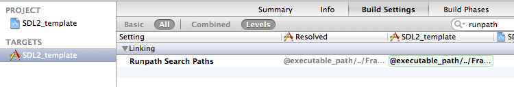 How to set up a SDL 2 project for OS X in Xcode 4 - Bits of Bytes