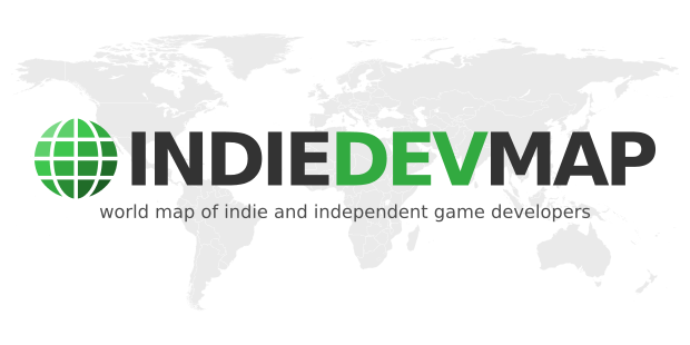 IndieDevMap, world map of indie and independent game developers