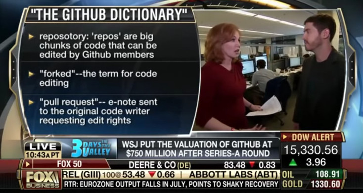 the GitHub dictionary on Fox News
