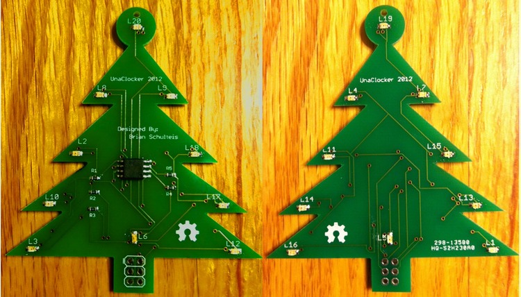 Arduino - CHARLIEPLEXED ATTINY LED CHRISTMAS ORNAMENT