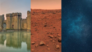 Castles, Mars or Space, what's the best setting for a video game?